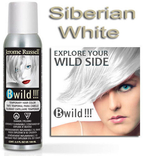 wild temporary hair color spray siberian white 3 5 oz ebay. Black Bedroom Furniture Sets. Home Design Ideas