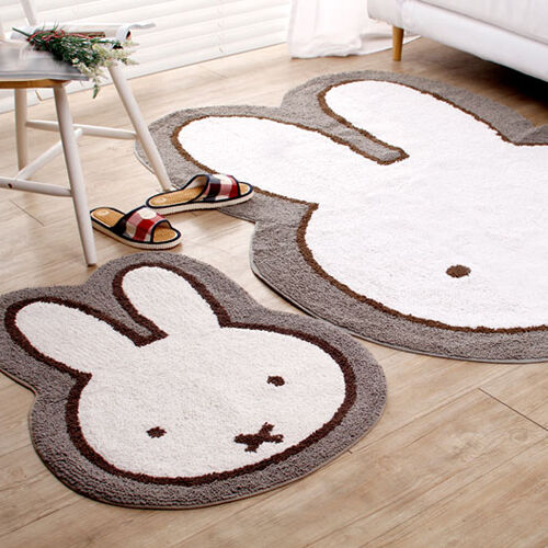 Miffy japan mat 2 small or large kids mats rug face girls for Rugs kids room