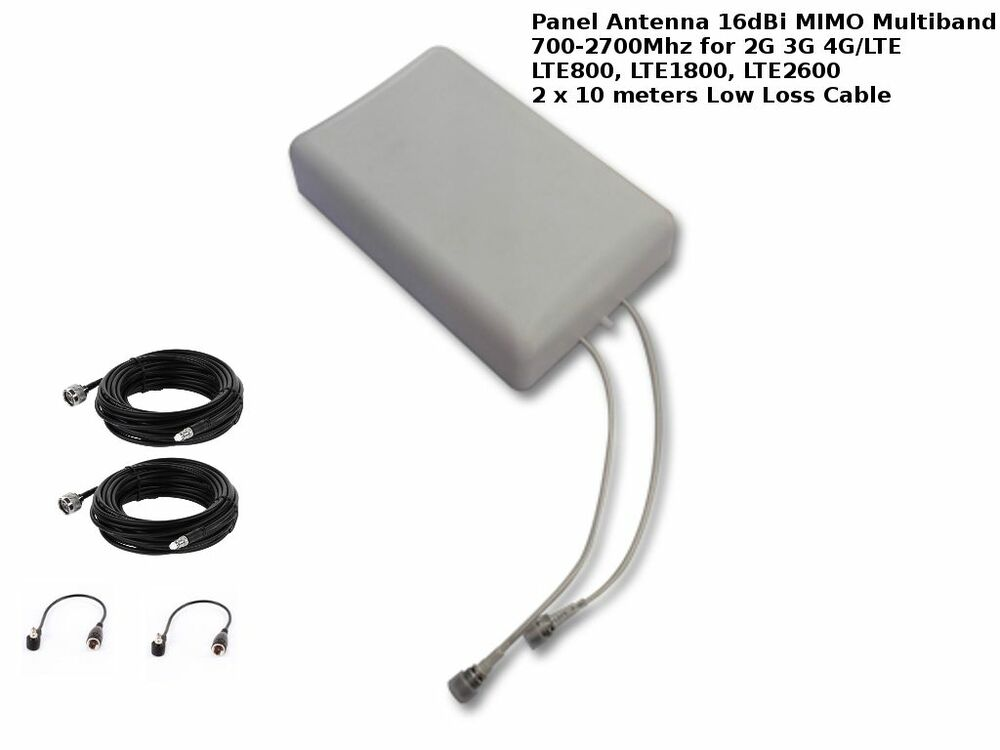 Mimo Motorhome Internet Options: MIMO Mobile Broadband Antenna Aerial Signal Booster Huawei
