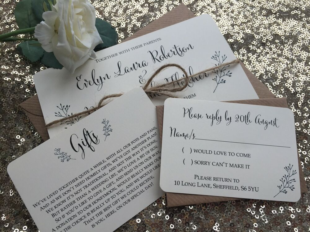 Wedding Invitation Gifts