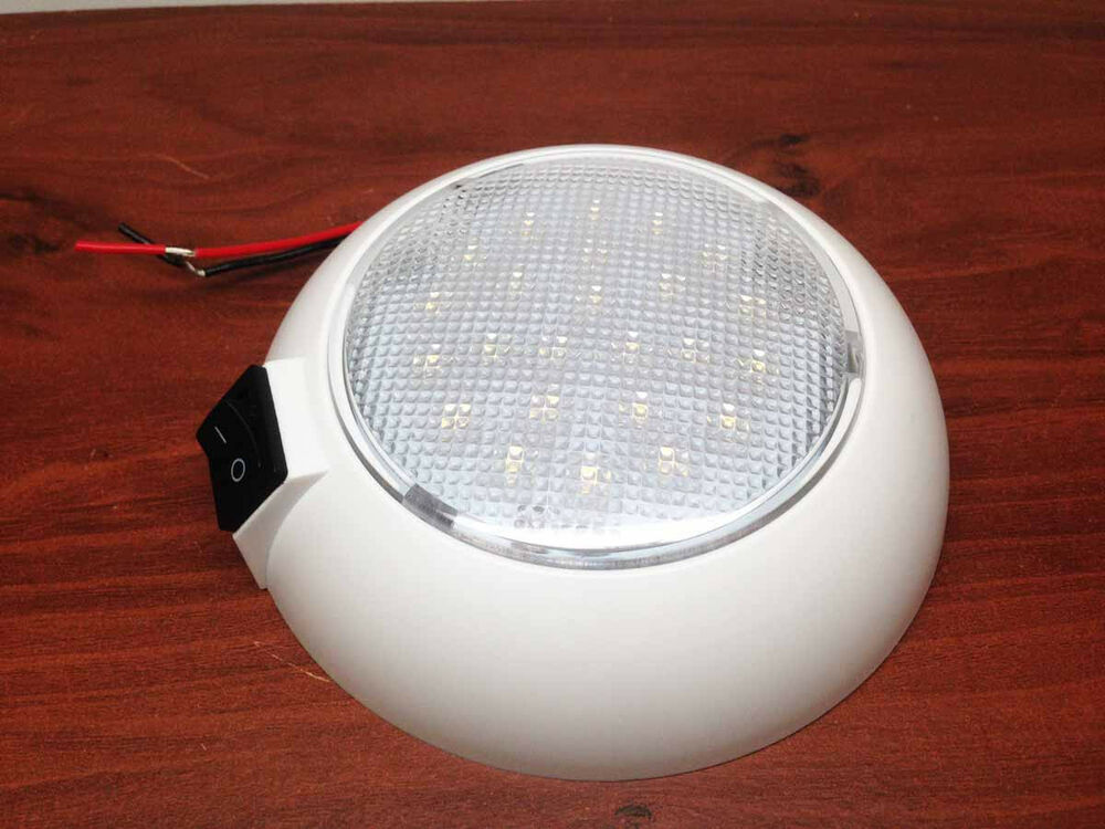 Rv Ceiling Lights Led : Marine boat rv led cabin round pc ceiling light surface