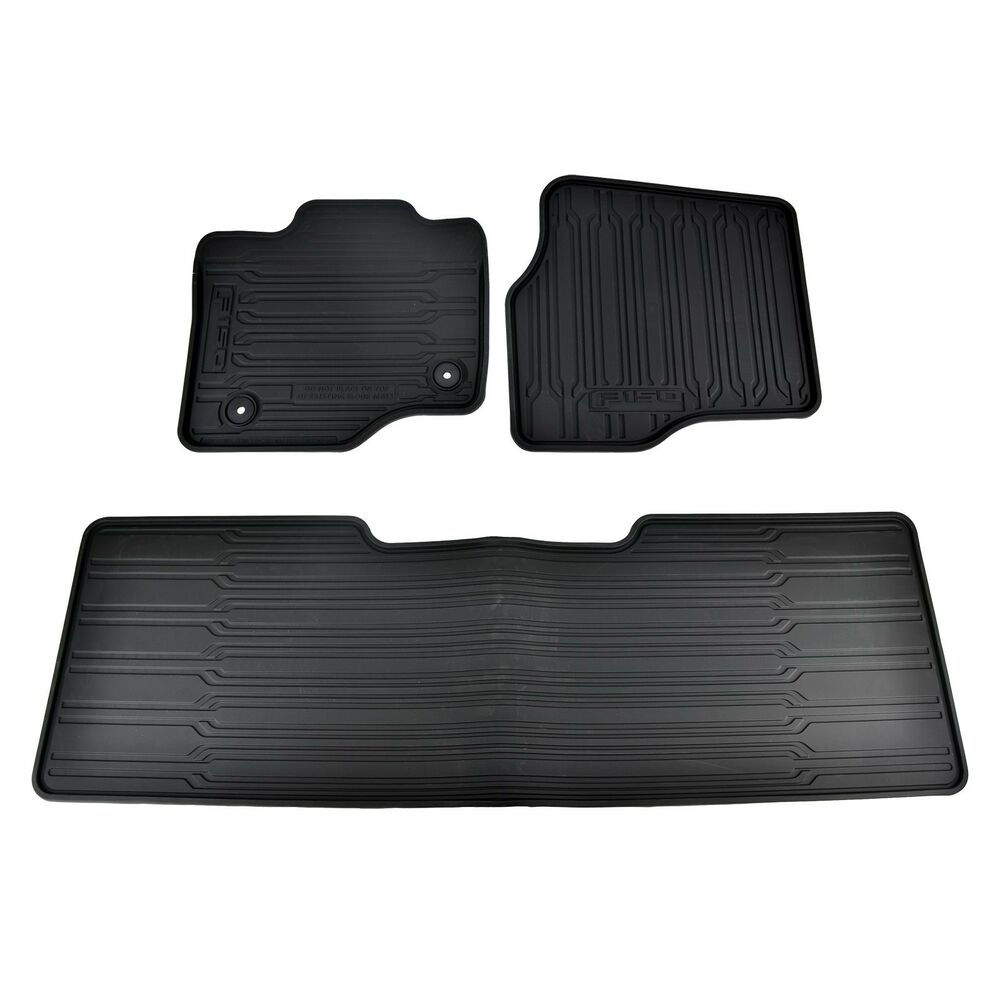Ford F 150 Floor Mats: NEW OEM 15-16 Ford F-150 Super Cab All Weather Contour