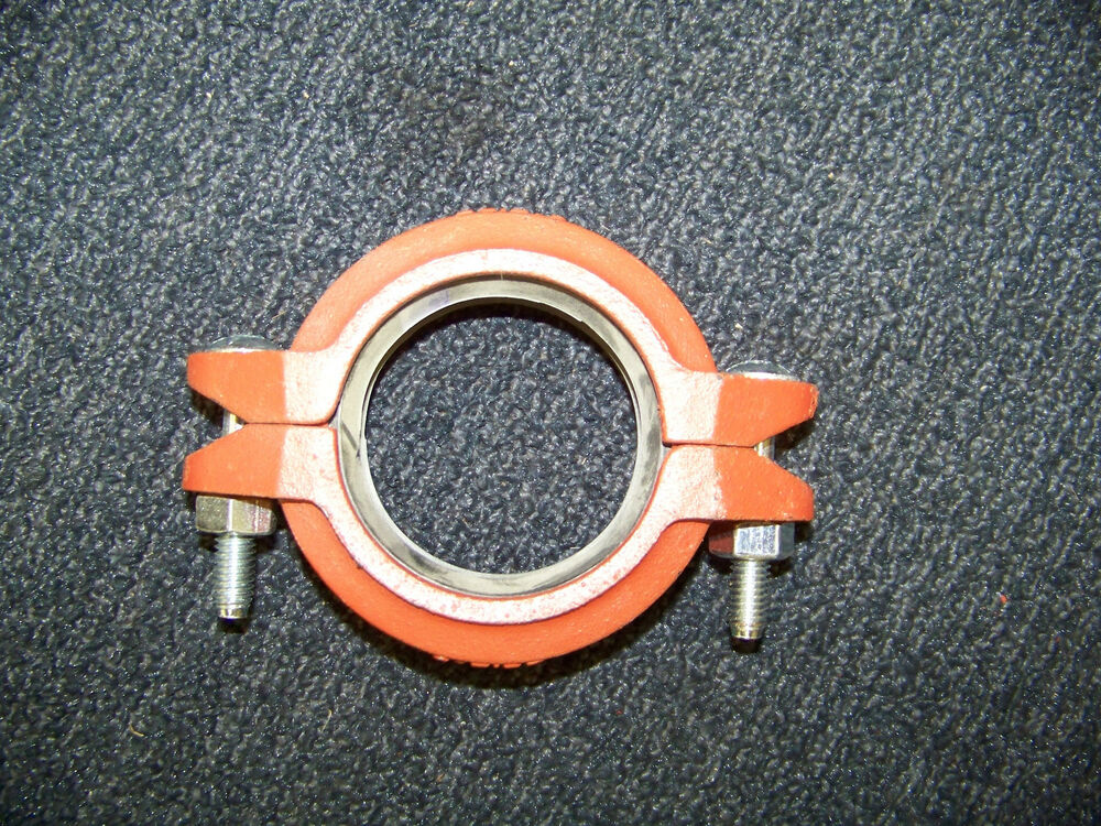 Grinnell fire sprinkler pipe coupling clamp quot