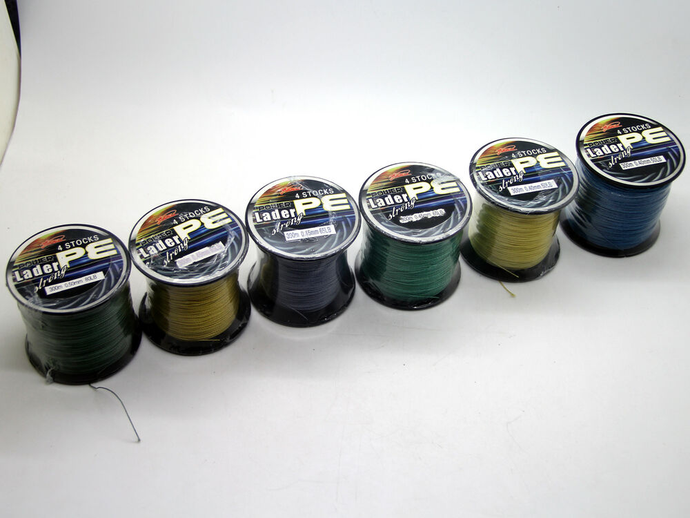 300m 50lb super strong 4strands pe dyneema spectra braided