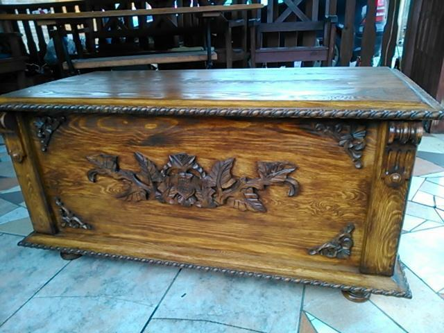 Wooden Blanket Box Coffee Table Trunk Vintage Chest Wooden Ottoman Toy Box Rn4 Ebay