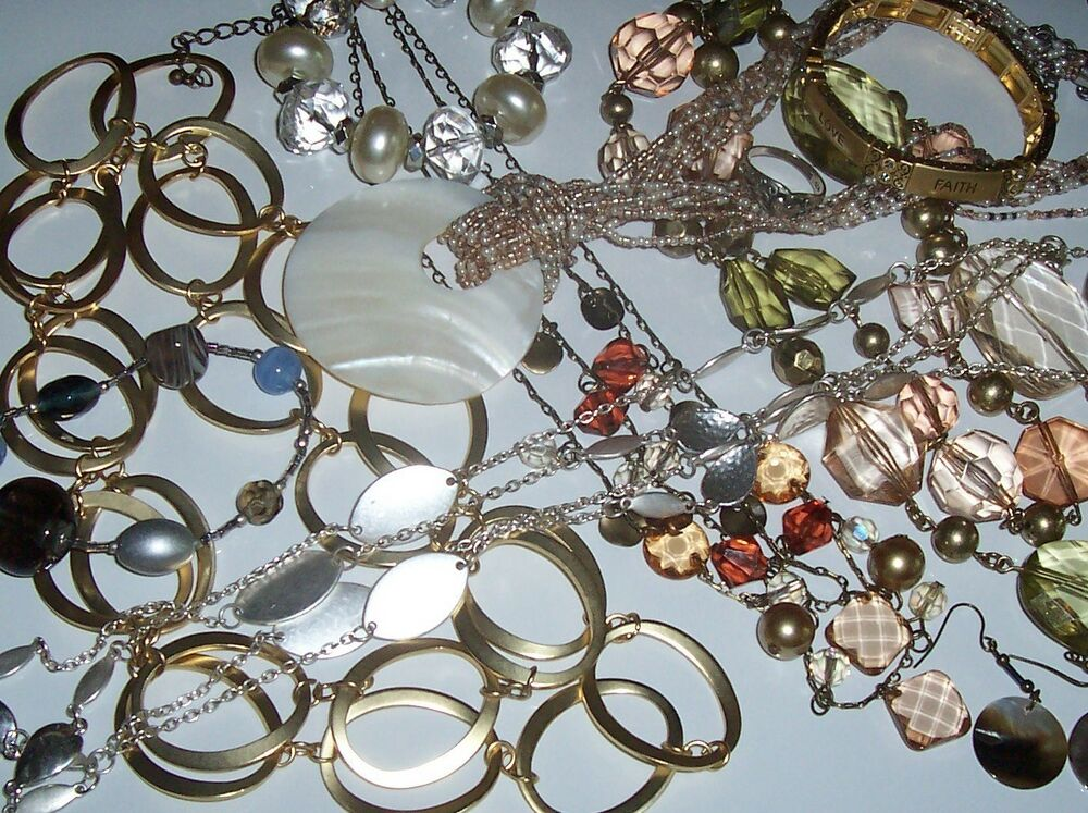 Premier designs jewelry lot 6 piece grab bag closeout for Premier jewelry cross ring