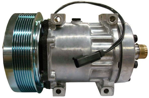 International Tractor Clutches : Compressor with clutch for case ih