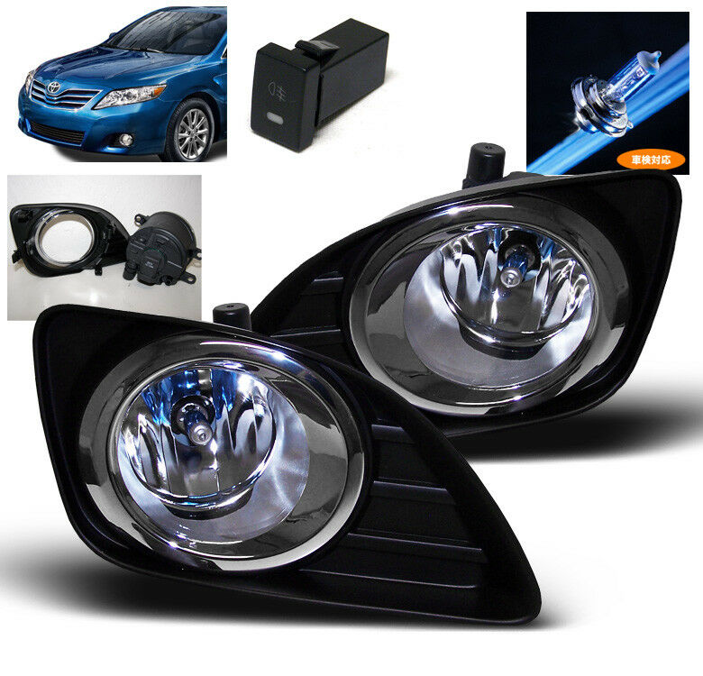 2010 2011 toyota camry front lower bumper fog light lamp. Black Bedroom Furniture Sets. Home Design Ideas