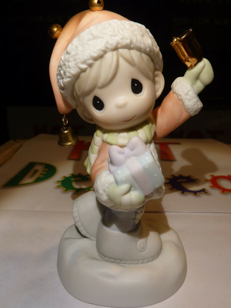Nice - Authentic Precious Moments Sleigh Bells Ring - 610012 - 2006 ...