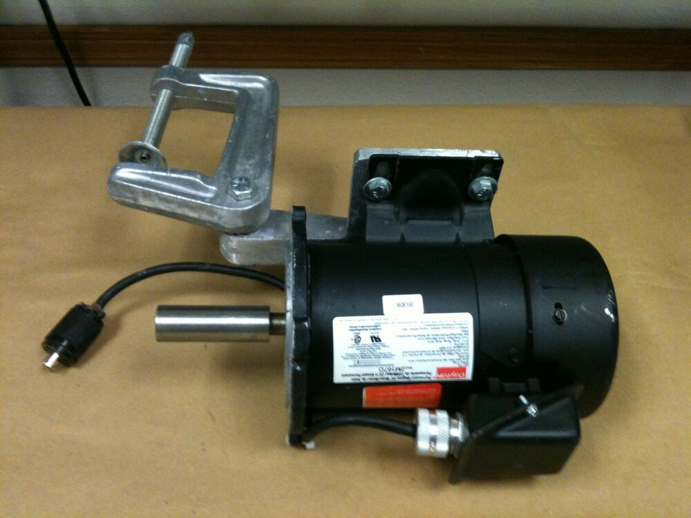 Dayton 2m167d permanent magnet dc motor with handler ebay for Dc permanent magnet motor