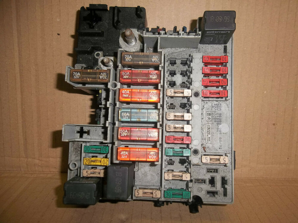 citroen berlingo van fuse box diagram berlingo dealers in calais peugeot 206 partner citroen picasso berlingo external fuse ...