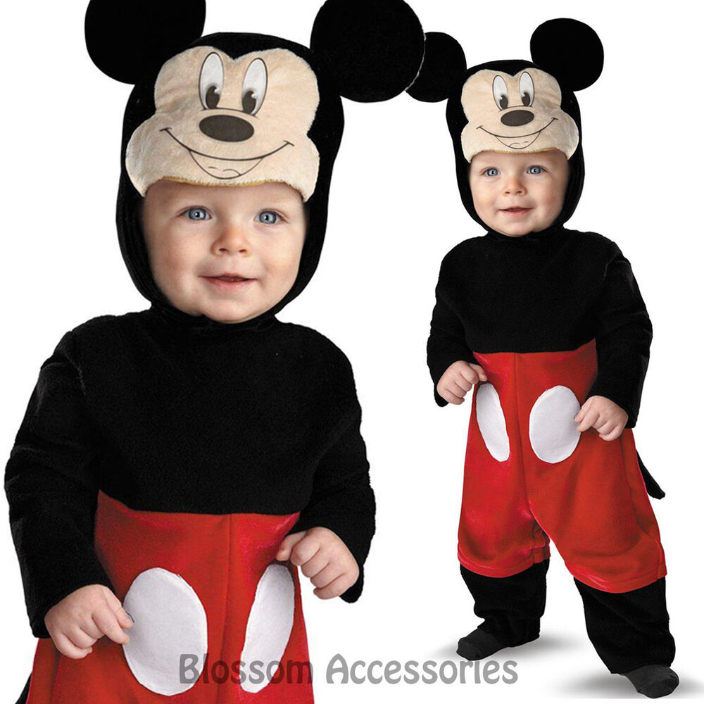 Baby Mickey Mouse Costume Shoes