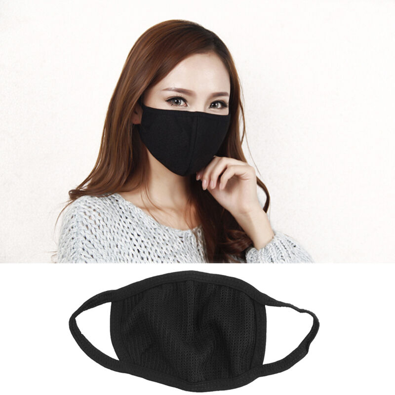 Face Mask: Unisex Mens Womens Cycling Anti-Dust Cotton Mouth Face