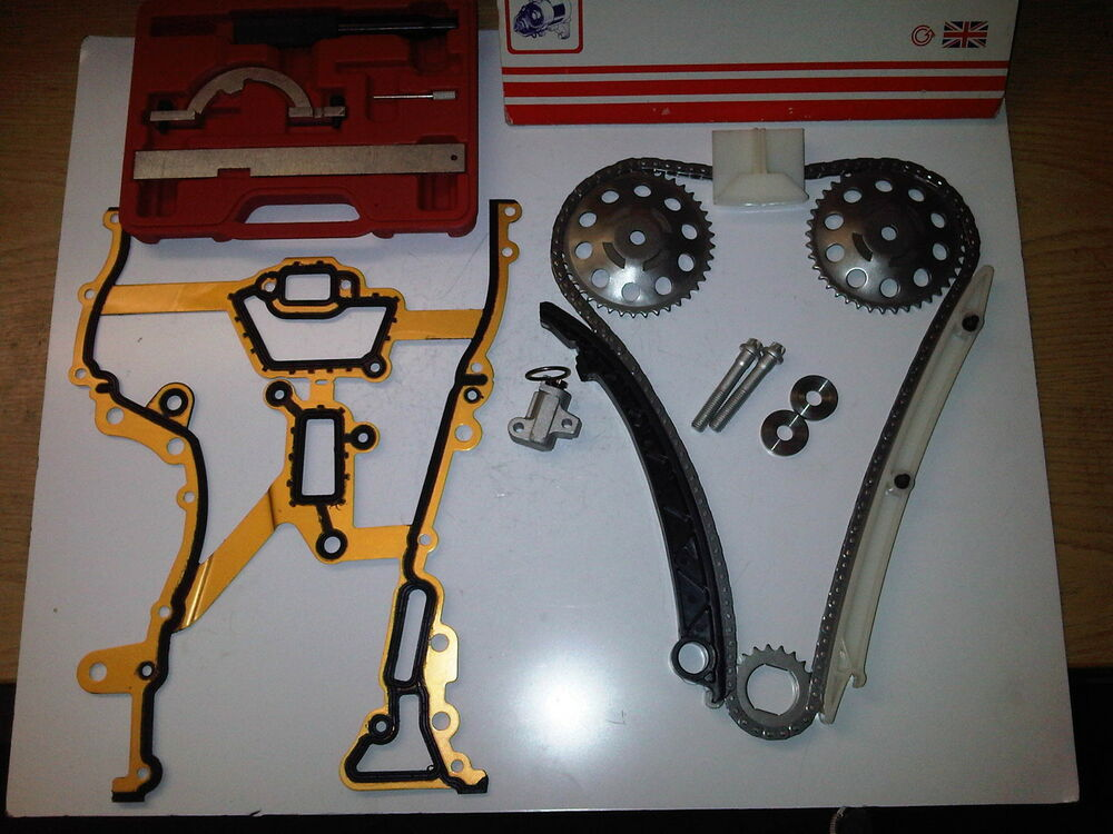 vauxhall corsa c d 1 0 1 2 1 4 petrol timing chain kit sprockets tools ebay. Black Bedroom Furniture Sets. Home Design Ideas