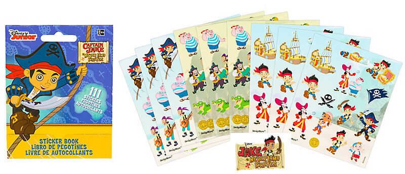 Jake And The Never Land Pirates Party Supplies Favours Stickers Book 111 Sticker Ebay