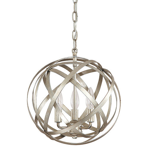 Modern 3 Light Globe Chandelier Orb Pendant Lamp Ceiling
