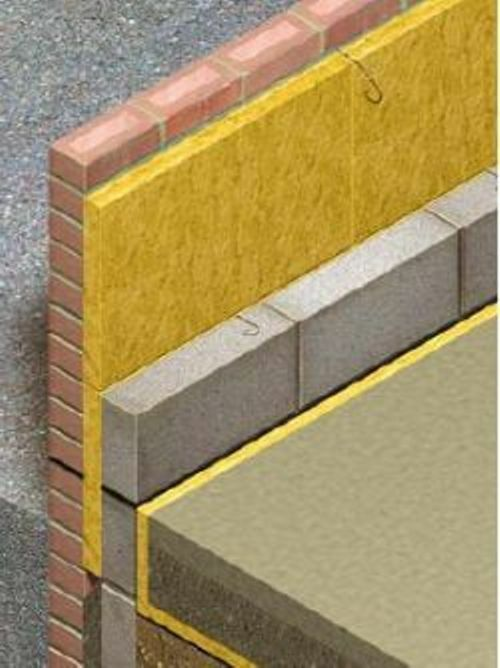 Rockwool cavity insulation 100mm free delivery multi list for Wool wall insulation