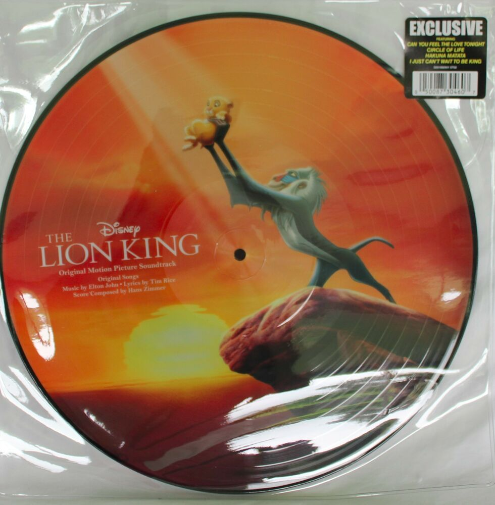 New Disney Parks Vinyl Record Collection The Lion King