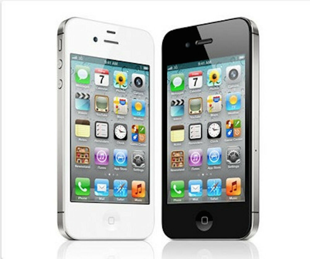 apple iphone 4s 8gb smartphone at t factory unlocked ebay. Black Bedroom Furniture Sets. Home Design Ideas