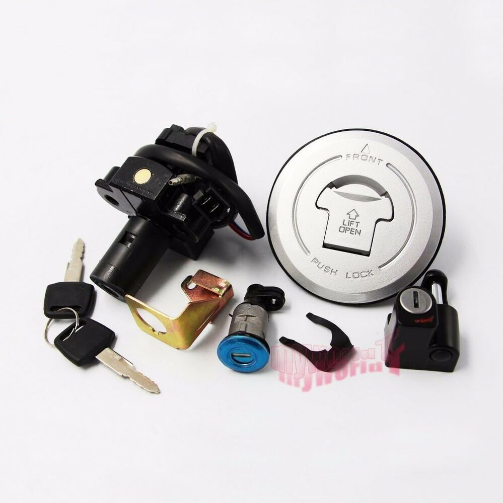 Ignition Switch Lock Fuel Gas Key Set For Honda Hornet