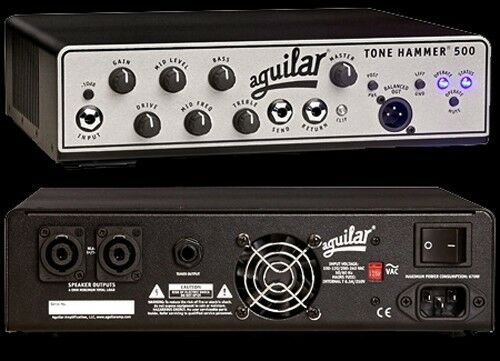 aguilar tone hammer 500 watt bass guitar amplifier head new with free shipping ebay. Black Bedroom Furniture Sets. Home Design Ideas