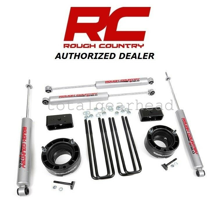 "Rough Country 346 23 Ram 2500 3500 Suspension Lift Kit 5: 1994-2001 Dodge Ram 1500 4WD 2.5"" Rough Country Suspension"