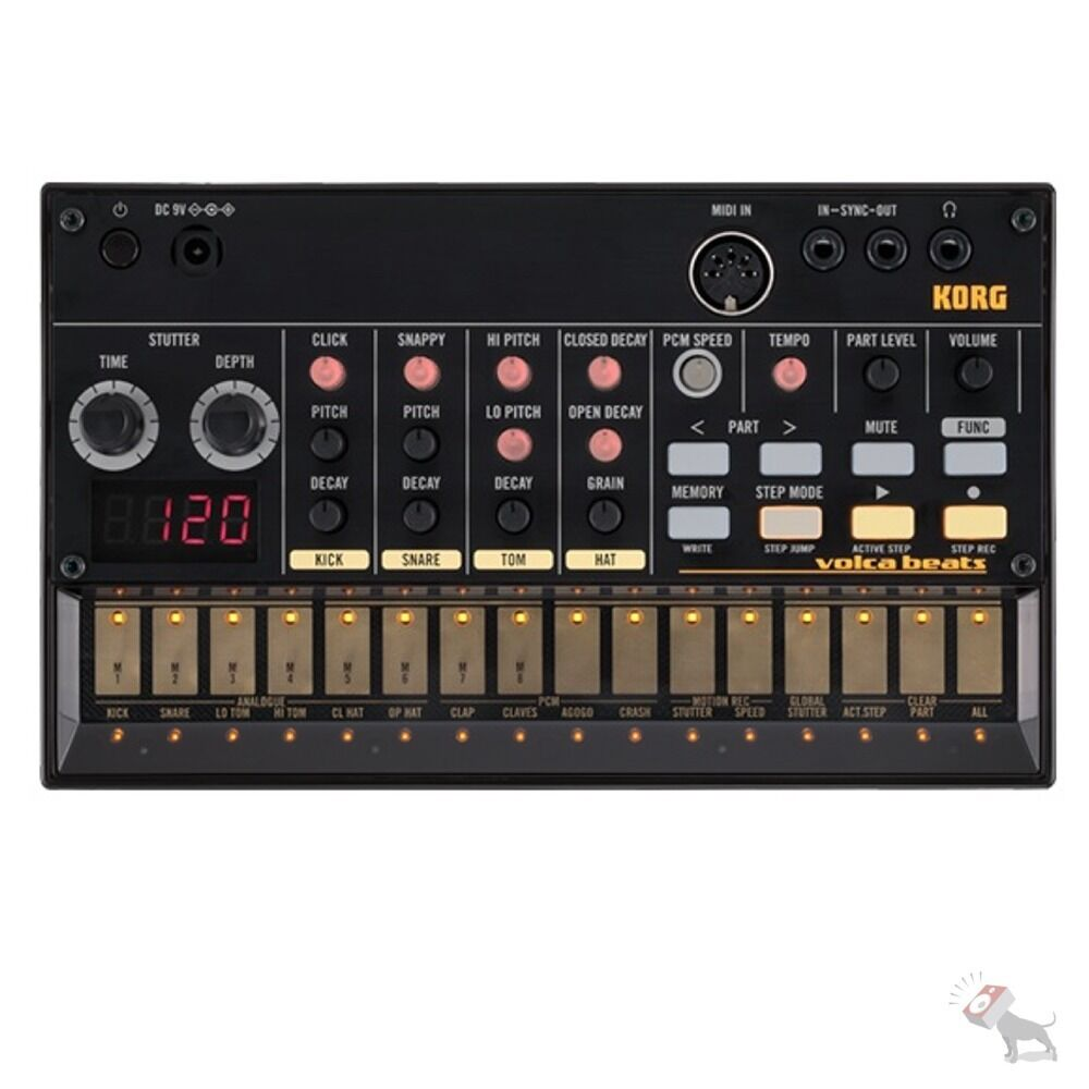 korg volca beats analogue rythm machine synth synthesizer sequencer midi usb ebay. Black Bedroom Furniture Sets. Home Design Ideas