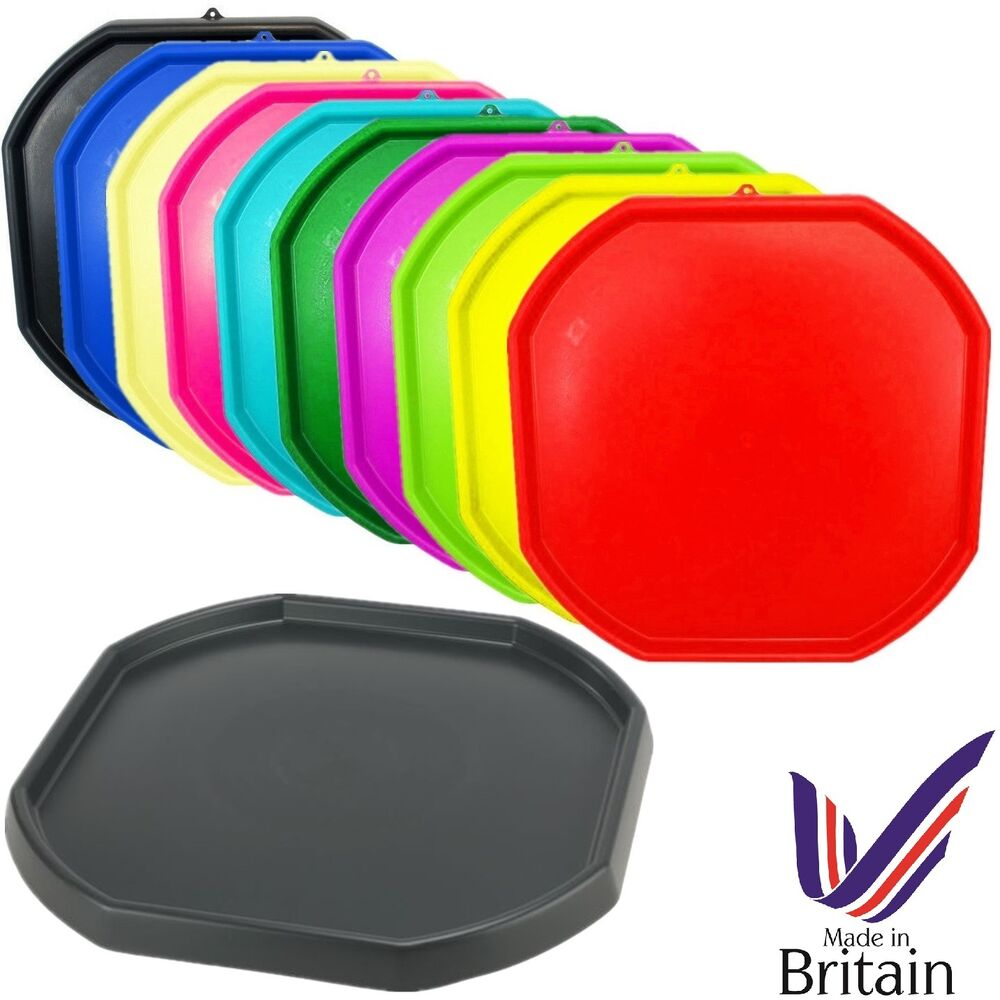 Large Plastic Builder Colour Mixing Tray Cement Mortar