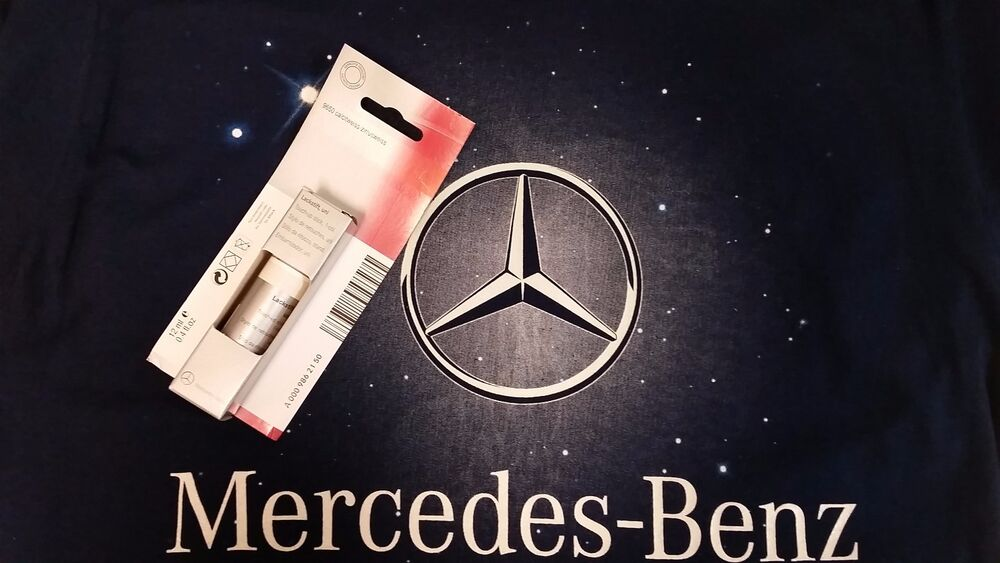 Mercedes Cirrus White Touch Up Paint