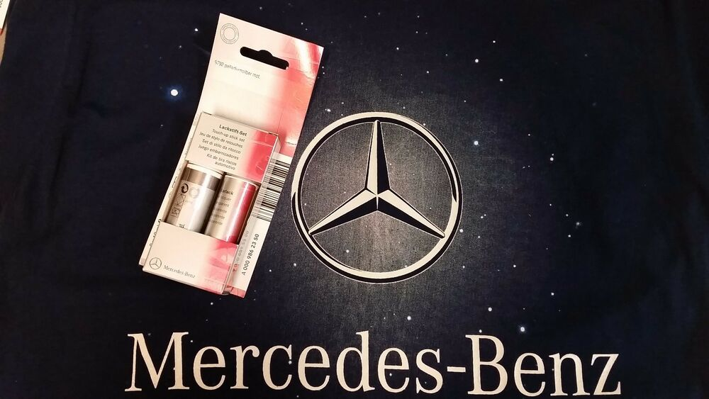 mercedes benz genuine touch up paint pen palladium silver