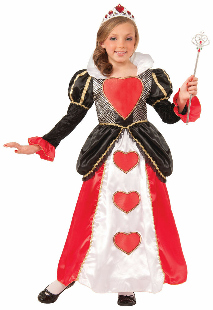 Queen Of Hearts Costumes For Women Child Sweethear...