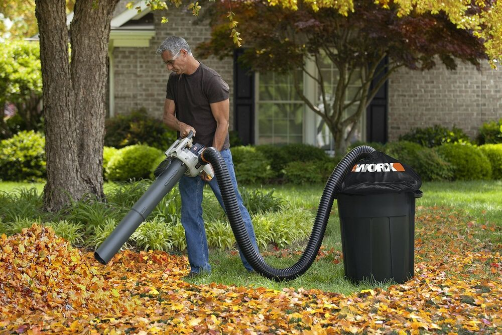 shop vac for leaves new leaf blower collector composter universal gas electric 5196