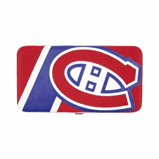 Montreal canadiens nhl team logo hard shell mesh wallet ebay - Canadiens hockey logo ...
