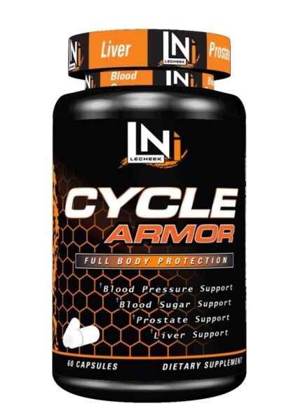 Lecheek Nutrition Cycle Armor 60 Caps. Complete on Cycle Support Supplement