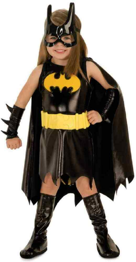 Batgirl DC Comics Batman Superhero Fancy Dress Halloween Toddler Child Costume | eBay