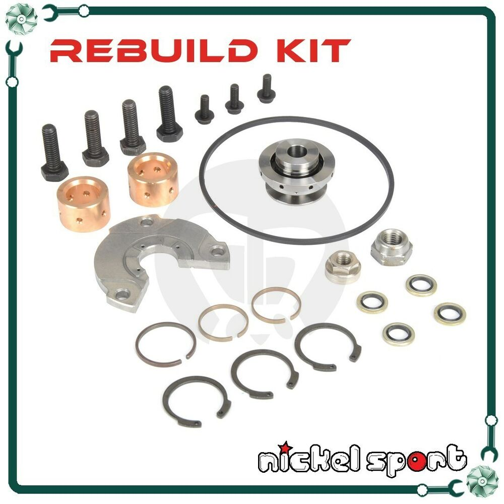 Garrett Turbocharger Rebuild Kits: GARRETT GT45 TMF55 Turbocharger On JOHN DEERE DETROIT