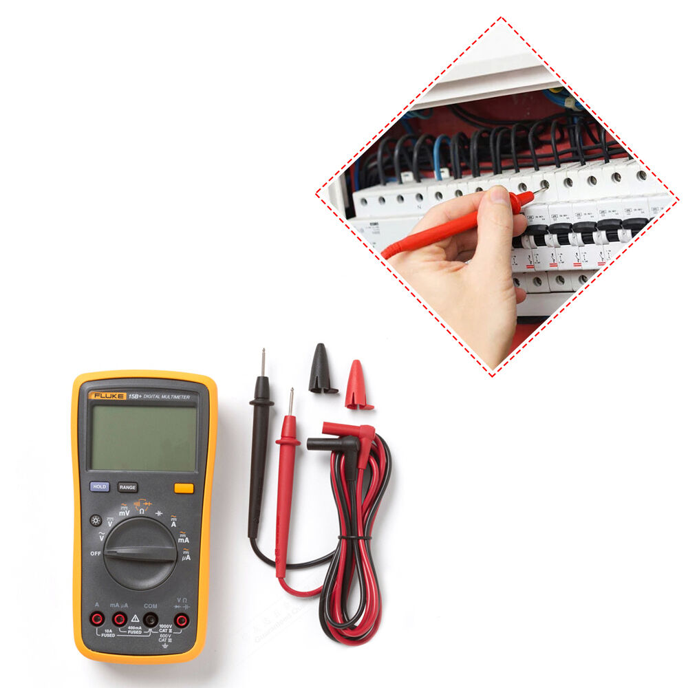 Digital Multimeter Leads : Fluke b digital multimeter tester dmm with tl test