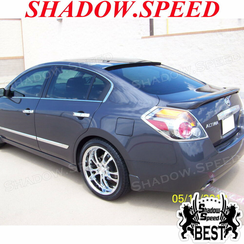 2 Door Altima >> Unpainted B-Type Rear Roof Spoiler Wing For 2013-15 Nissan Altima Sedan | eBay
