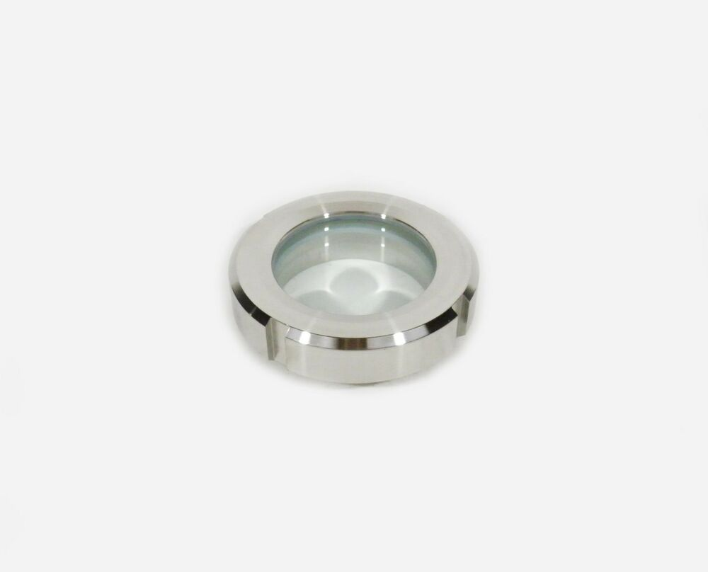 Quot stainless threaded removable weld on sight glass ebay