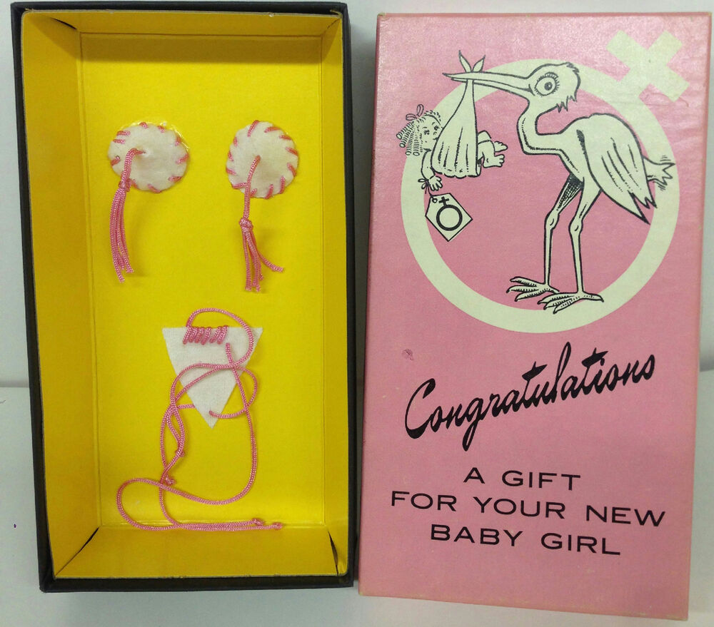 Congratulations, A Gift For Your New Baby Girl Baby Shower Gag Gift