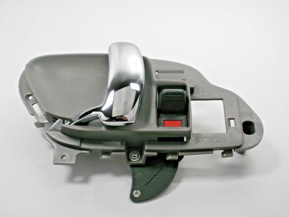 Interior chrome door handle 1995 1999 c k silverado sierra tahoe yukon suburban ebay for 1999 suburban interior door handle