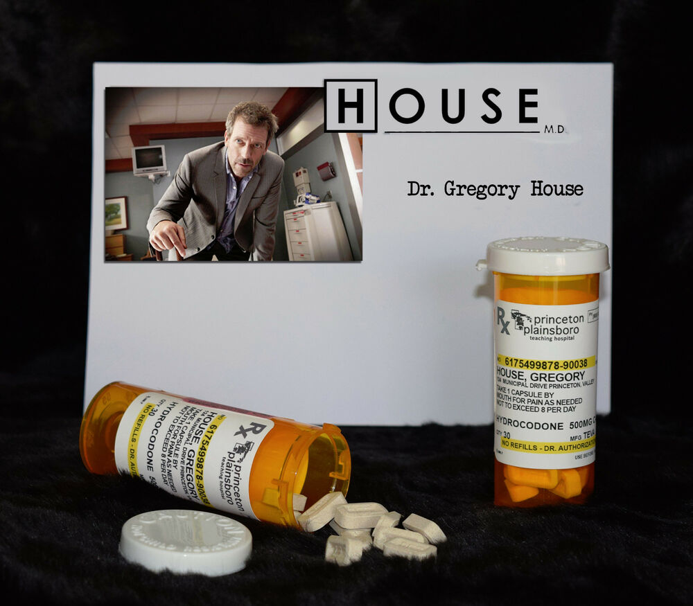 """TV SERIES HOUSE MD EXACT REPLICA COLLECTOR PROP """"GREGORY"""