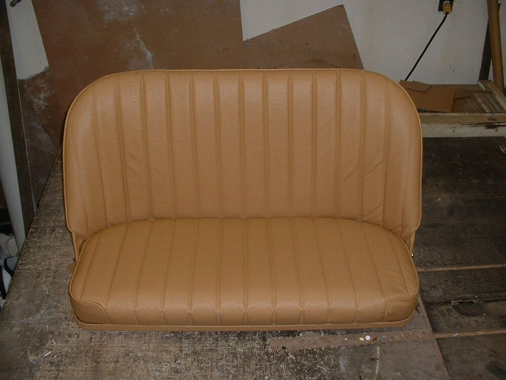 Model A Bench Seat ~ Hot rod rat ford chevy fold down bomber