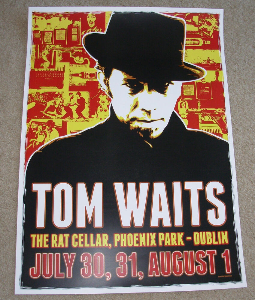 Tom Waits Tour History