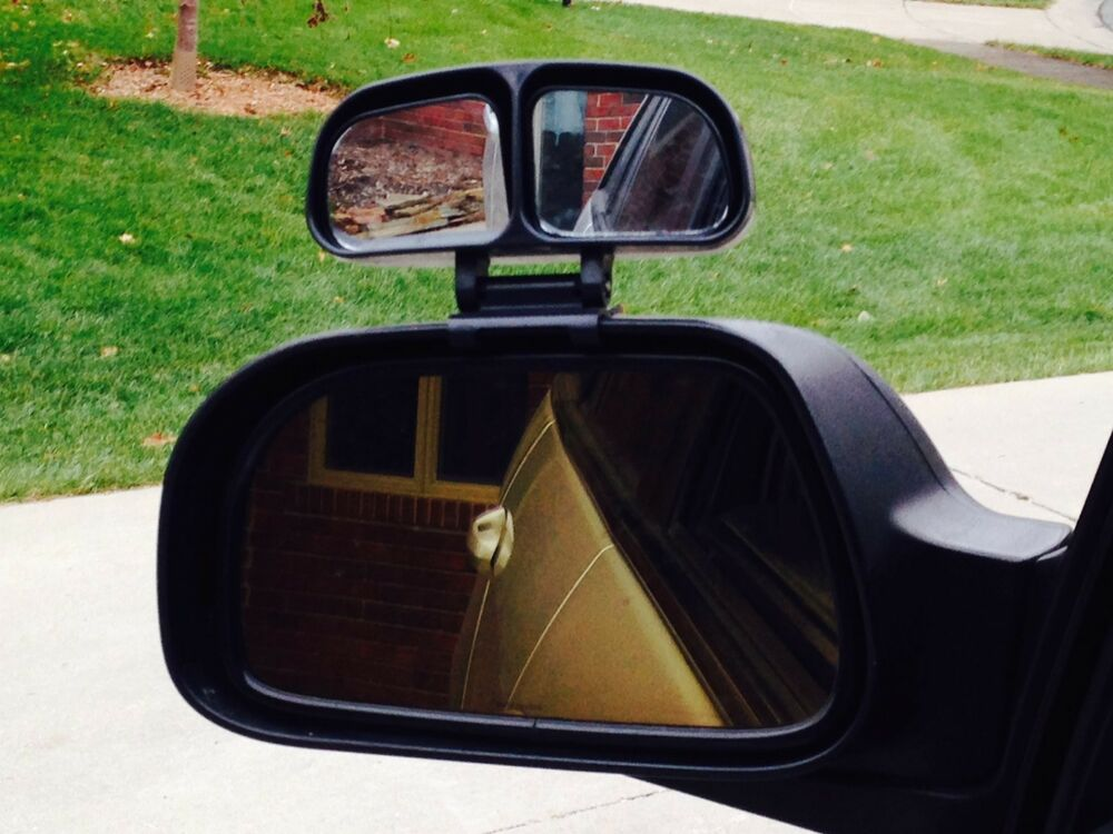 Blind Spot Mirror W Dual Adjustable Mirrors For Car Or