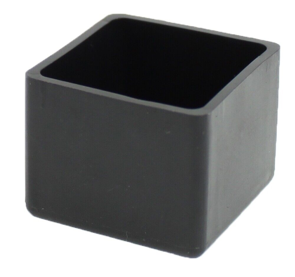 25mm 1 square rubber feet stoppers tips ferrules for. Black Bedroom Furniture Sets. Home Design Ideas