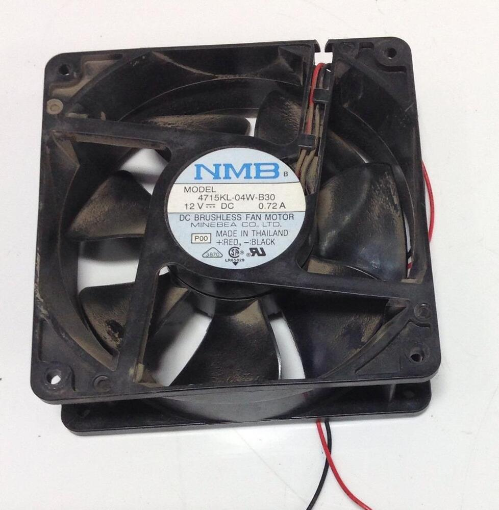 Dc Brushless Fan Motor : Nmb vdc a dc brushless fan motor kl w b ebay