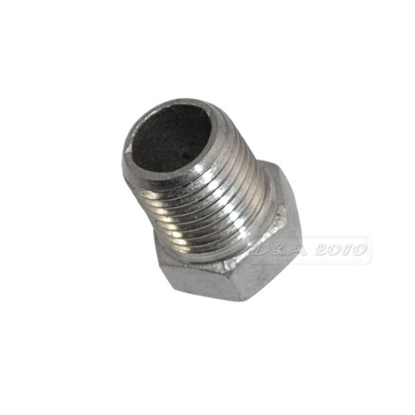 Male female thread reducer bushing pipe fitting