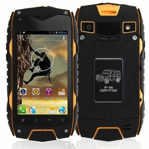 unlocked dual sim jeep z6 android mobile phone ip68 waterproof rugged tough gps ebay. Black Bedroom Furniture Sets. Home Design Ideas