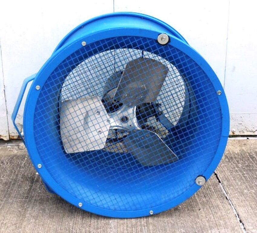 High Velocity Fan Blade : Patterson high velocity quot fan h a cs blade hp